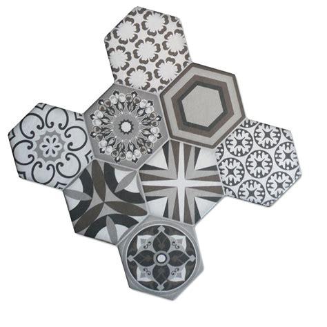 fliese hexagon bodenfliesen sechseck hexagon fliese zement retro optik