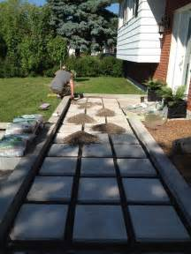 Curb Appeal Makeover - zen shmen our diy front path makeover