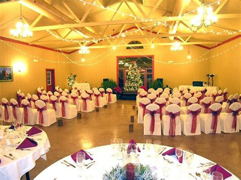 wedding and reception in same room ceremony reception in the same room walnut banquet facility at foggy mountain lodge
