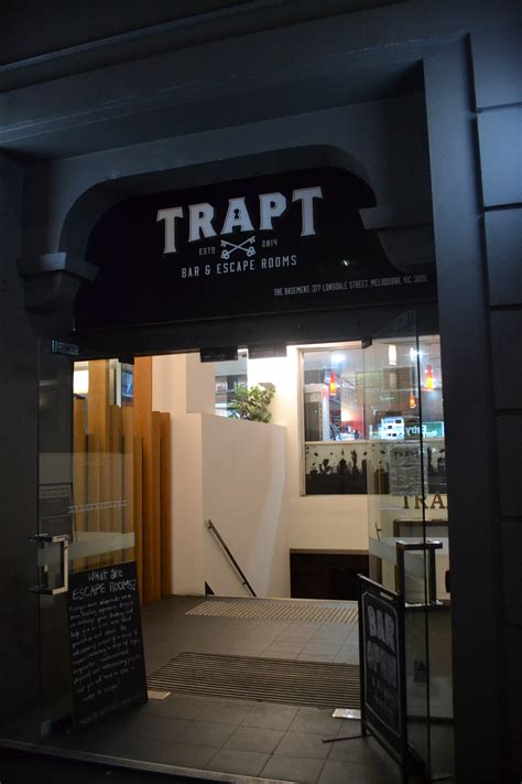 escape room melbourne trapt escape room and bar melbourne