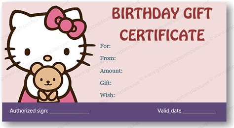 gift card template for mac free birthday gift certificate template for mac gift ftempo
