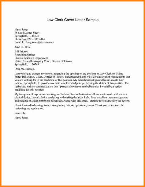 Court Attorney Cover Letter 5 Letter Sles Ledger Paper