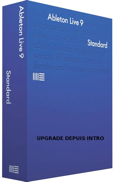 Ableton Live 9 Intro Original Software live 9 standard upgrade from intro