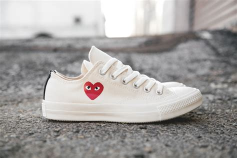 cdg sneakers comme des gar 231 ons play x converse chuck all