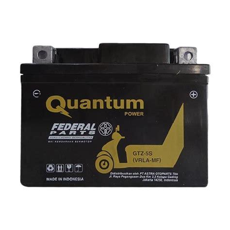 Aki Quantum Gtz 5s jual astra gtz 5s federal quantum power aki kering harga kualitas terjamin blibli