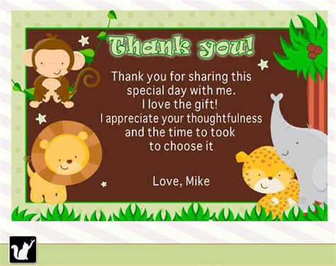 Thank You Card Sayings For Baby Shower Gifts - baby shower gift thank you wording sles baby shower ideas