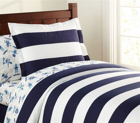 rugby stripe bedding pottery barn kids picmia