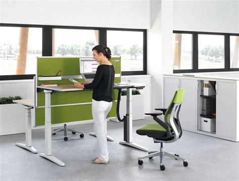Suffering From Back Problems Try Our Ergonomically Sit Stand Office Desk