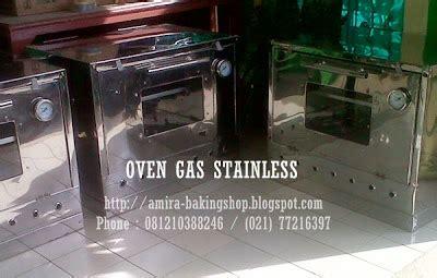 Oven Gas Stainless 90x55 Cm amira baking shop oven gas idaman bakul kue