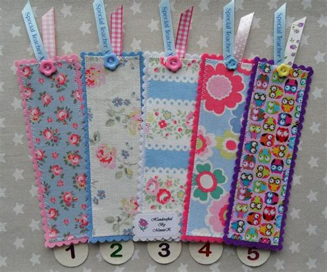 Handmade Fabric Bookmarks - 1000 ideas about bookmarks on