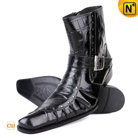 italian leather boots mens mens italian leather ankle dress boots cw760141