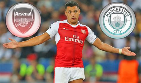 alexis sanchez man city arsenal exclusive man city monitor contract talks with