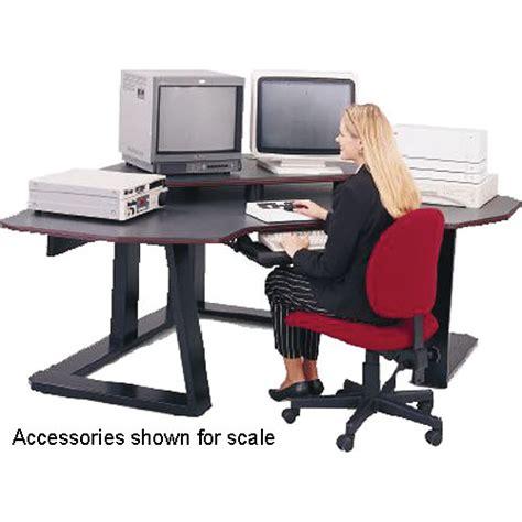 winsted digital corner workstation editing desk e4525