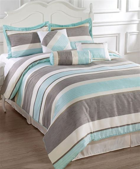 Blue And Grey Comforter Set by Blue Gray Bachelor Comforter Set Modern Comforters And