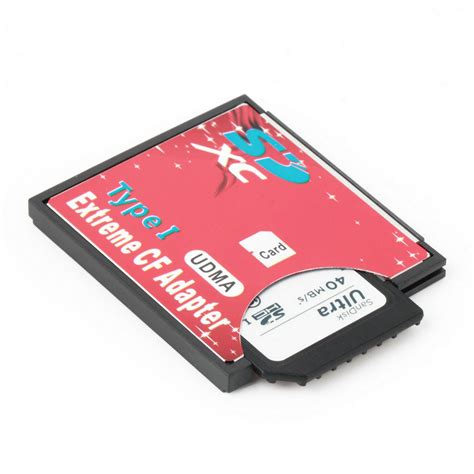 Memory Compact Flash Single Slot For Micro Sd Sdxc Tf To Compact Flash