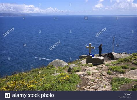 cabo de finisterre galicia cabo finisterre galicia spain stock photo royalty free