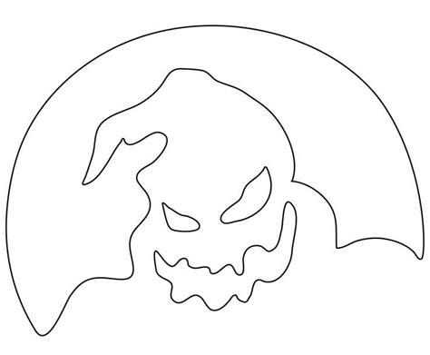 Free Printable Nightmare Before Pumpkin Stencils