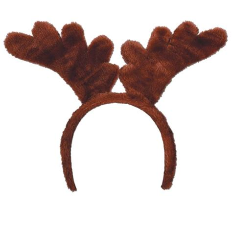 soft touch reindeer antlers headband christmas party