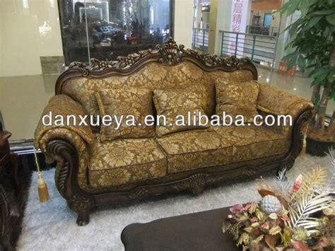antique vintage italian rococo sofa carved wood legs