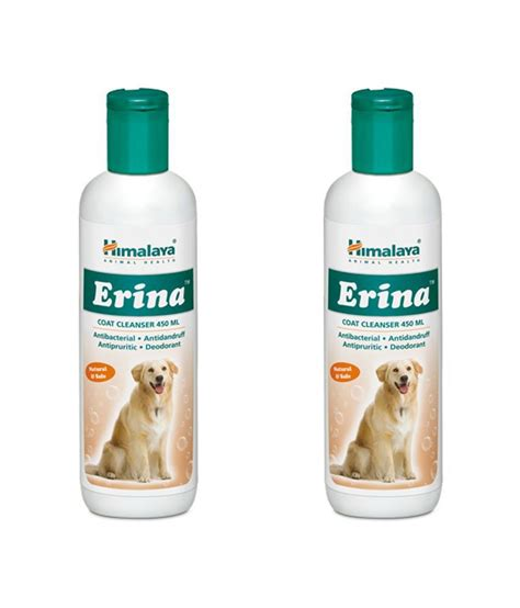 himalaya erina coat cleanser 450ml pack of 2 buy