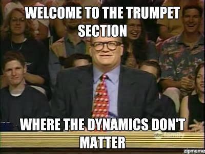 stages  finals week trumpet players trumpets