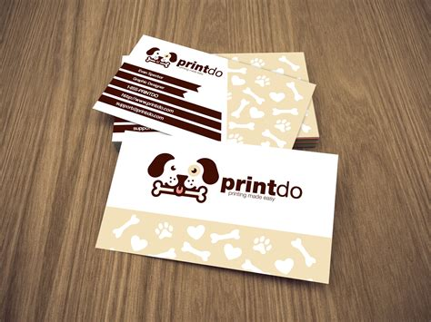 stores that make business cards pet store animal care business cards simply yet stylish