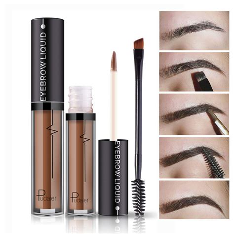 henna tattoo kits eyebrows new makeup waterproof eye brow tattoo tint brush kits