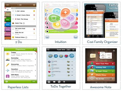 best organizational apps top 6 apps organizing