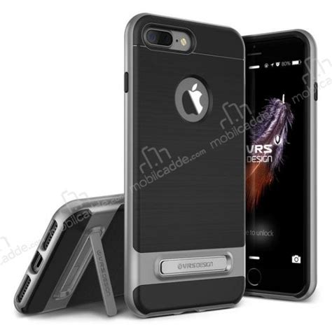 Verus Iphone 7 Plus High Pro Shield Steel Blue Limited vrs design high pro shield iphone 7 plus steel silver kılıf