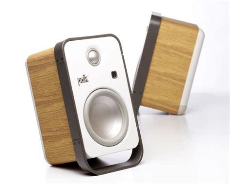 modern speakers modern wooden sound systems polk hden speakers