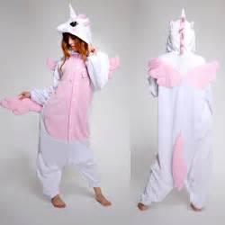 Pink unicorn adult kigurumi animal cosplay costume pajamas sleepsuit