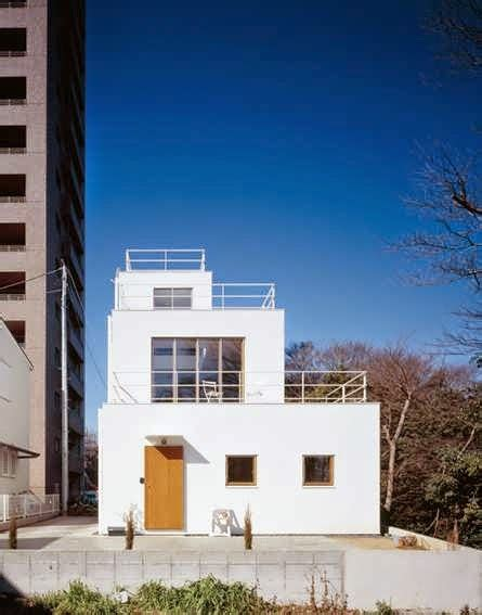 Modern Glass House Decked Architecture Japanese Deck House Design Plan For Stepped Silhouette And