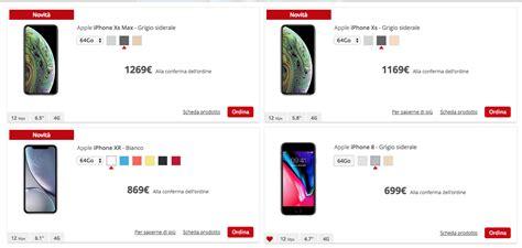 iliad vende ufficialmente iphone xs xs max  iphone xr iphone italia