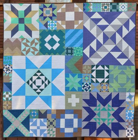 quilt pattern with different size blocks happy quilting modern building blocks back to nature