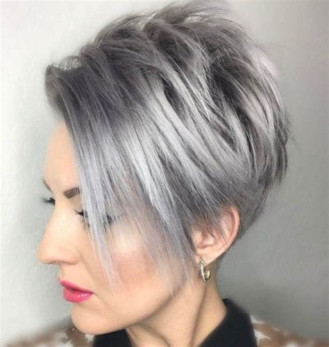 spiked crown with bob cut and long bangs 21 best kort haarstyle des 2016 images on pinterest