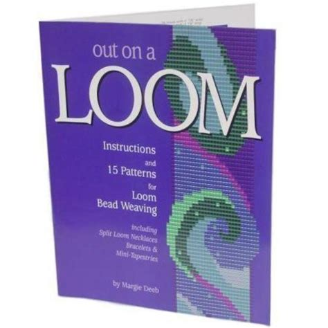 loom beading books out on a loom beading bead weaving book findingking ebay