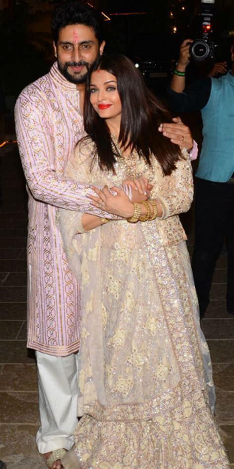 Aishwarya Rai Bachchan and Abhishek Bachchan 10th wedding