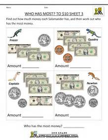 printable money worksheets new calendar template site