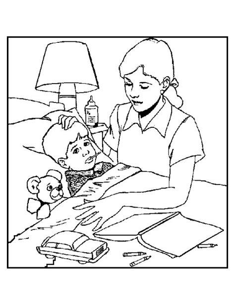 coloring pages jesus heals sick boy sick coloring pages sketch coloring page sick boy coloring