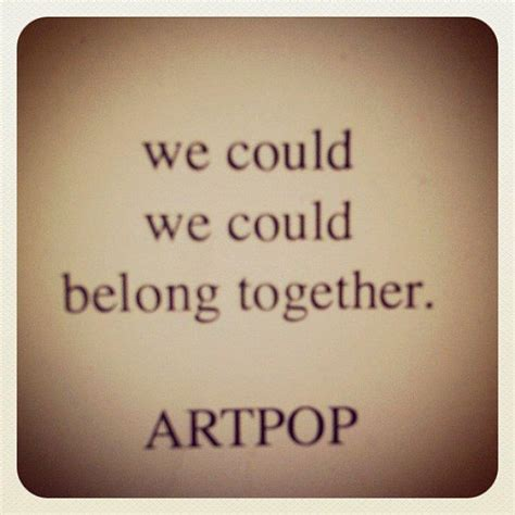 testo somewhere i belong to help improve the quality of the lyrics visit artpop