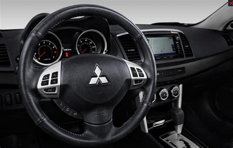 mitsubishi lancer 2017 interior 2017 mitsubishi lancer overview the wheel