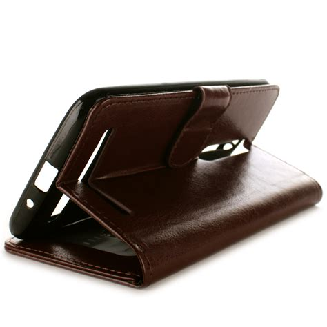 Best Leather N Cover Wallet Asus Zenfone 2 5 5 Inch brown leather credit card wallet cover folio for asus zenfone 2 5 5