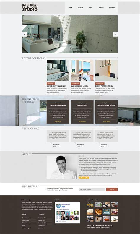 sito arredamento design tema joomla per un sito di arredamento e design