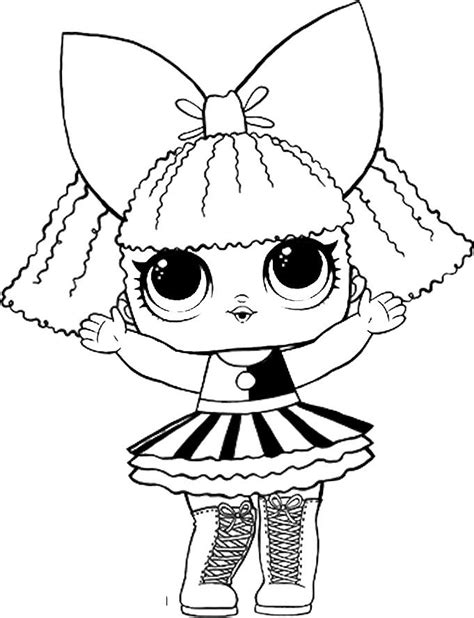 Coloring Page Lol Dolls by Pin By Oxana188 On Lol Dolls Coloring