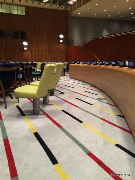 Delegates Dining Room United Nations The Mad Men Interiors Of Nyc S United Nations Building