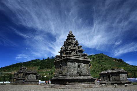 candi arjuna paduan keindahan alam  nilai sejarah