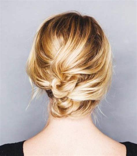 Schicke Frisuren Kurze Haare by Hochsteckfrisuren Selber Machen 6 Einfache Anleitungen