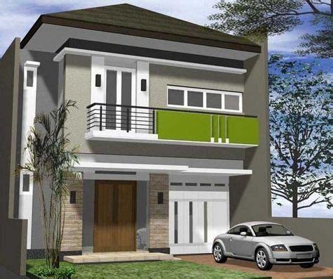 paduan warna cat depan rumah minimalis