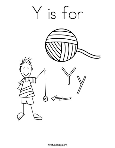 coloring pages for yarn 88 coloring page for letter y free printable