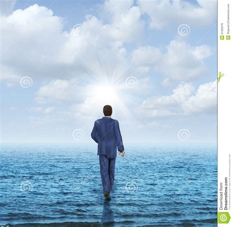 walking on the walk on water royalty free stock photos image 31393378